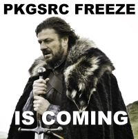 Freeze is coming to pkgsrc